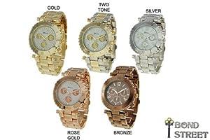 Wholesale Assortment of 6 Geneva Spectacular Bracelet Watches 9271