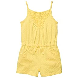 Carter\'s Sweet Sunshine Collection Yellow Strappy Romper (2T-6X) (5)