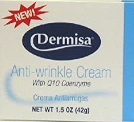 Dermisa Cream Anti-Wrinkle 1.5 oz. (3-Pack) with Free Nail File