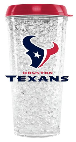 NFL Houston Duck House Crystal Tumbler with Straw (Houston Texan Coffee Cup compare prices)