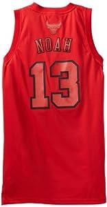 NBA Chicago Bulls Winter Court Big Color Swingman Jersey, #13 Joakim Noah, Red by adidas
