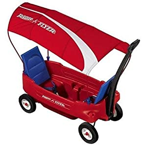 Radio Flyer #2800R Voyager Canopy Wagon - $124.99 - Discontinued