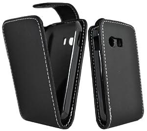 Accessory Master E13 Housse en Cuir pour Samsung Galaxy Y S5360 Noir