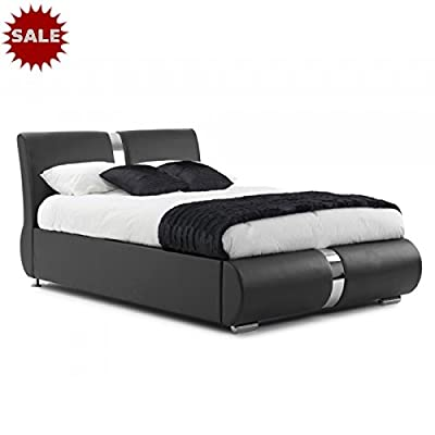Canali Faux Leather Italian Style Bed