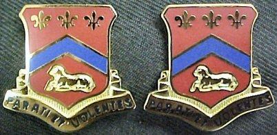 123rd Field Artillery Distinctive Unit Insignia -Pair
