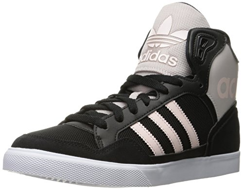Adidas Originals Women's Extaball W Fashion Sneaker, Black/Halo Pink S16/Ice Purple F16, 9 M US