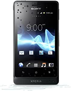 Sony Xperia go Smartphone (8,9 cm (3,5 Zoll) Touchscreen, 5 Megapixel Kamera, Android 2.3) schwarz