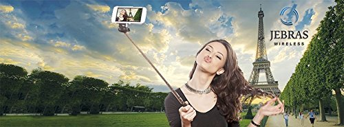 Buy Bargain NEW Selfie Stick, Jebras Wireless Brand, Monopod Extendable Wireless Bluetooth Selfie St...