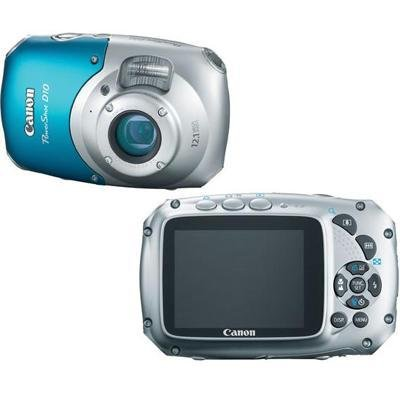 Black Friday Canon 12.1-megapixel PowerShot Digital Camera -Blue/Silver -One Deals