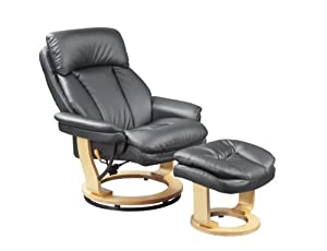 Birlea Iowa Swivel Chair Black