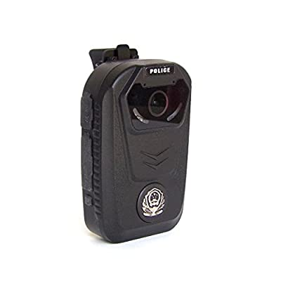 1080P Police Style Body Camera by Geektopia - Video Recording Body Camera with Adjustable Clip