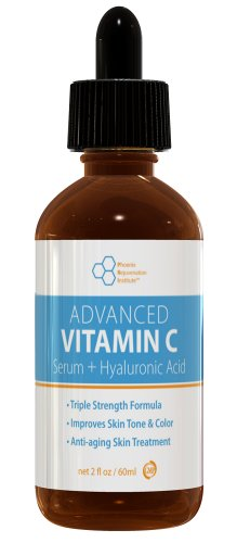 buy Vitamin C Serum (2Oz) - Advanced Vitamin C Serum For Face And Neck, 2Oz/60Ml Bottle, Highly Concentrated 20% Vitamin C With Hyaluronic Acid For Skin Care, Look Younger And Feel Better (Bonus Size)
