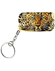The Leopard | ShopTwiz WOODEN Key Ring