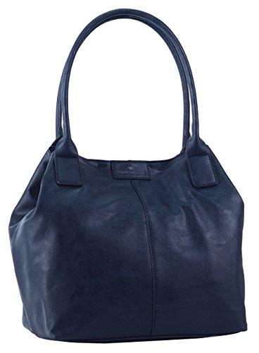 Tom-Tailor-Acc-MIRIPU-10990-Damen-Shopper-44x28x18-cm-B-x-H-x-T-Blau-blau-50
