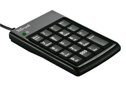 Trust Numeric Keypad & USB Hub KP-1200p Pavé numérique USB