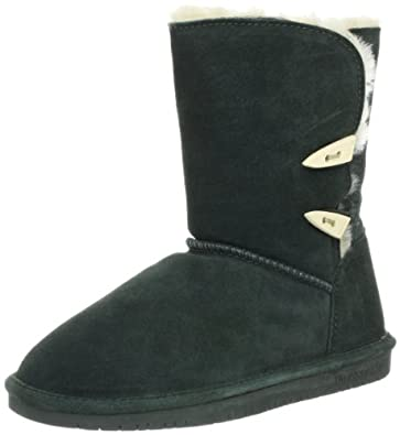 BEARPAW Women's Abigial Boot,Evergreen,6 M US