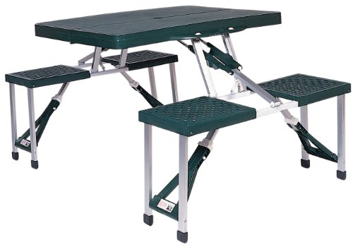 Stansport Portable Picnic Table (Green)