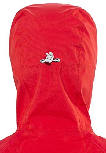 Millet LD Jungfrau GTX Jacket Women rouge/silver Größe L 2016 Regenjacke -