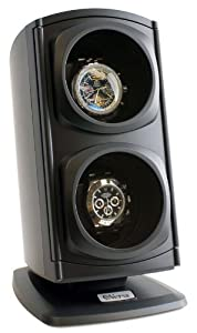 Versa Automatic Double Watch Winder in Black