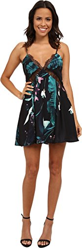 StyleStalker Women's Oasis Print Shift Shift Tent Dress Oasis Print Dress SM (US Women's 4-6) (Dress Oasis compare prices)