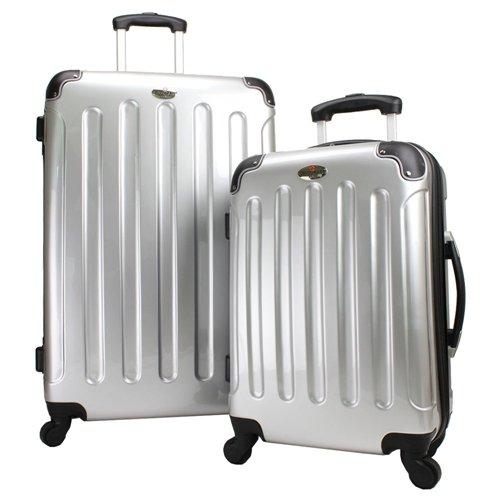 Swiss Case 2-Teiliges Hartschalen 4-Rad Kofferset