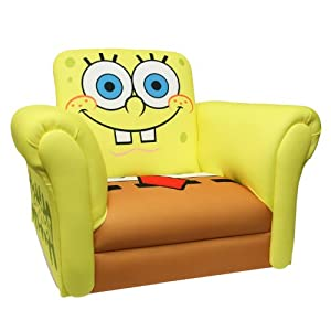 Nickelodeon Deluxe Rocking Chair Sponge Bob from Newco International