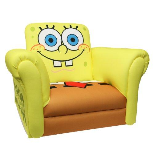 Nickelodeon Deluxe Rocking Chair, Sponge Bob front-1021989