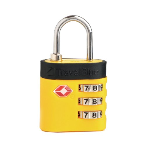 Travel Blue TSA Combination Deluxe Luggage Lock