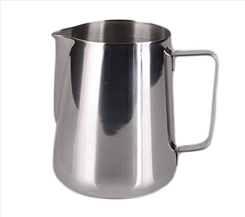 Stainless Steel Espresso Coffee Pitcher Barista 600ml 20 Oz Kitchen Home Craft Coffee Latte Milk Frothing Jug (Exprelia Saeco compare prices)