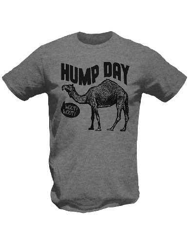 Hump Day Guess What Day It Is - Wednesday Camel T-Shirt