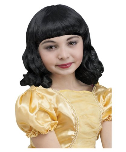 Pretty Princess Snow White Girls Wig