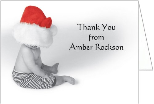 Little Claus Baby Shower Thank You Cards - Set Of 20 front-1039760