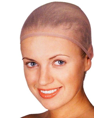 Wig Cap (Light Brown) Adult Halloween Costume Accessory
