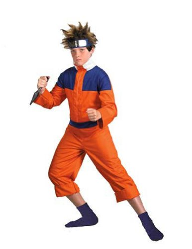 Naruto Deluxe 14 to 16 Kids Boys Costume