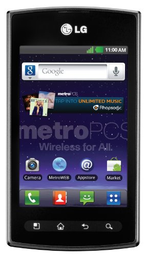 LG Optimus M+ Prepaid Android Phone (MetroPCS)