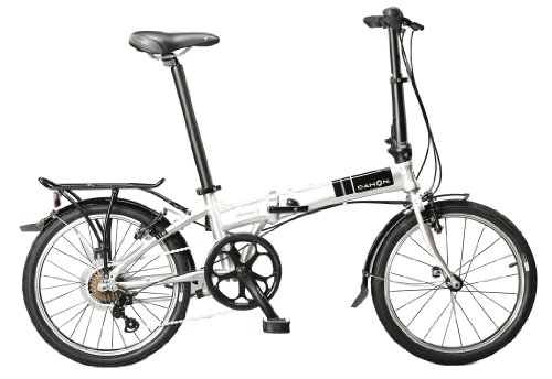 Discover Bargain Dahon Mariner D7 Folding Bike, Brushed