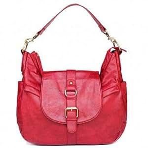 Kelly Moore B-Hobo Bag Red Fashionable Camera Bag