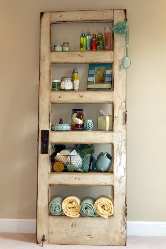 The Door Shelf Bookcase (Antique White)