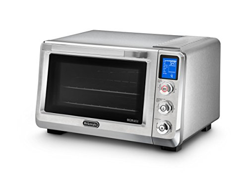DeLonghi America EO241250M Livenza Digital Countertop Oven, Stainless Steel (Delonghi Small Oven compare prices)
