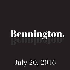 Bennington, Julie Klausner, July 20, 2016 Radio/TV Program