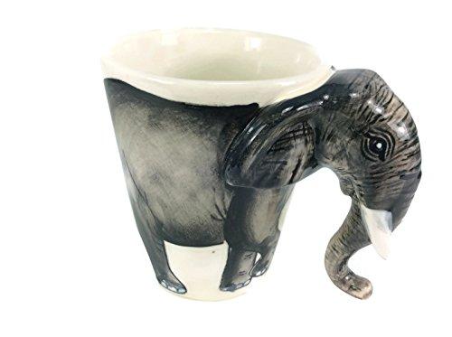 Mug Elephant Enamel Cartoon Painted Milk Glass Mugs Mug for Kid (Dragon Ball Z Metal Cooler compare prices)