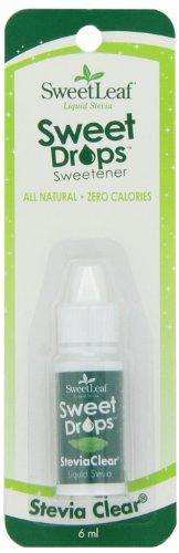 SweetLeaf Sweet Drops Liquid Stevia Sweetener, SteviaClear, 0.2 Ounce (Pack of 6)
