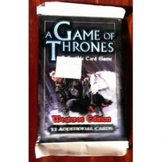 A Game of Thrones Westeros Edition Booster Pack 11 Additional Cards