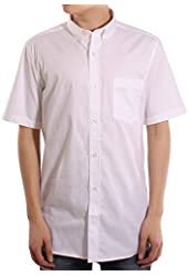 French Connection Men's Short Sleeve Oxford Shirt