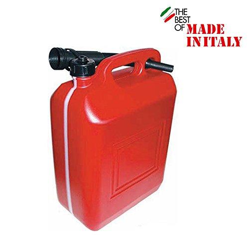 Benzin-Kanister-mit-Tlle-und-flexiblem-Ausgieer-10-Liter-rot-Kunststoff-Benzinkanister-Wohnwagen-Kanister-Ausgieer-10-L-Kraftstoffkanister