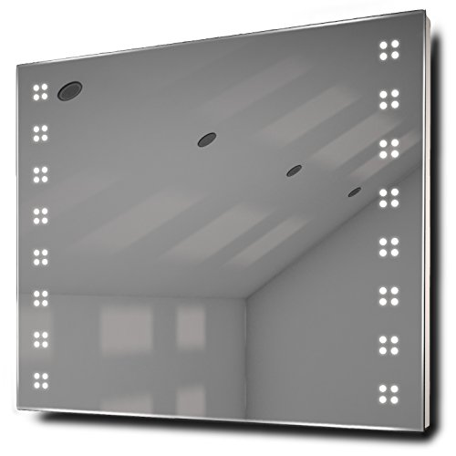 Sky Ultra-Slim Led Bathroom Illuminated Mirror With Demister Pad & Sensor K20A