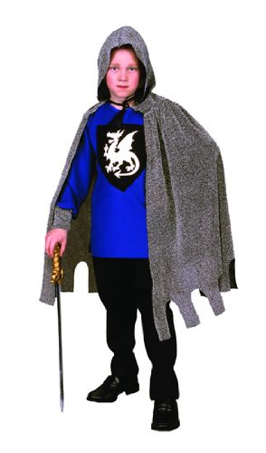 Child's Medieval Dragon Knight Costume Size Medium (8-10)