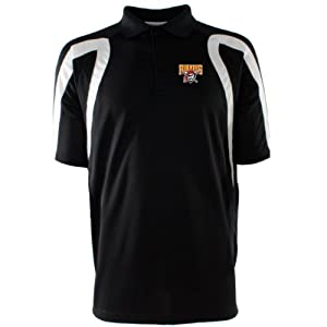 MLB Mens Pittsburgh Pirates Point Desert Dry Polo by Antigua