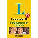 """Langenscheidt Schulw�rterbuch Englisch: Englisch-Deutsch/Deutsch-Englisch (Langenscheidt Schulw�rterb�cher)von """"Redaktion Langenscheidt"""""""