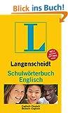 Langenscheidt Schulw�rterbuch Englisch: Englisch-Deutsch/Deutsch-Englisch (Langenscheidt Schulw�rterb�cher)